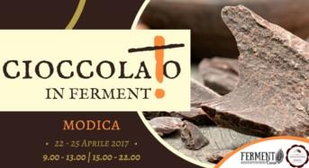 """""""Cioccolato in fermento"""" a Modica: Dal 22 al 25 aprile l'esperienza globale del cioccolato, con seminari di formazione, laboratori e degustazioni"""