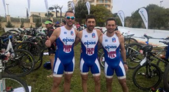 La Modica Triathlon Bike all'evento internazionale X Terra Malta
