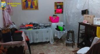 """Scoperto a Vittoria un vero e proprio """"bazar"""" di prodotti contraffatti"""