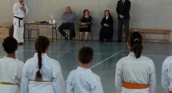 """Acate. Terminato l'evento """"Il karate a scuola"""", organizzato dall'Asd Dragon Sport School"""