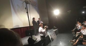 Totò Lentini, che ci mette la faccia, presenta Alleanza per Palermo. Presente Orlando