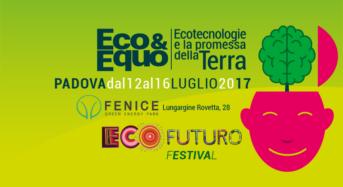 Tra pochi giorni parte il festival di Ecofuturo 2017