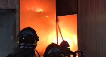 Comiso. Due auto in fiamme: Tempestivo l'intervento dei Vigili del Fuoco