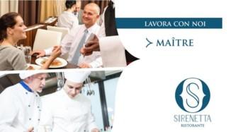 """Modica. Selezione Responsabile di Sala presso """"La Sirenetta"""""""