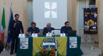 A Donnafugata Roberto Giacobbo racconta i Templari. Successo per l'iniziativa del Lions Club Ragusa
