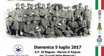"""Ragusa, il 9 luglio cerimonia nei """"luoghi della memoria"""" per commemorare i valorosi soldati italiani caduti nella Battaglia di Sicilia"""