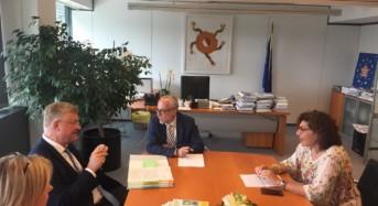 Fondi UE. Giuffrida (PD) incontra il presidente del comitato delle regioni markkula per sinergie in difesa della politica di coesione