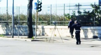Autovelox più visibili. La Polizia Municipale di Palermo ottempera al decreto Minniti