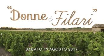 """Sabato 19 agosto a Noto """"Donne e Filari – Vendemmia in Cantina"""""""