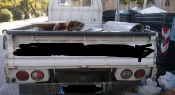 Palermo, abbandono illecito rifiuti. Sequestrato camion che trasportava alluminio