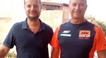Il vicesindaco Iannucci ha incontrato il campione di moto fuori strada Luca Leone