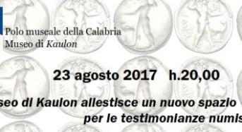 Monasterace, presentazione spazio testimonianze numismatiche