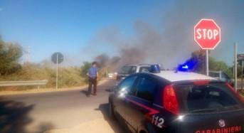 Incendia sterpaglie e cerca di dileguarsi, arrestato dai Carabinieri di Strongoli