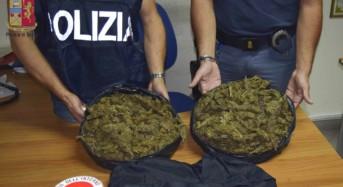 Milazzo, duplice arresto alla fermata dei bus