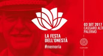 Palermo, domani 3 settembre La Festa dell'onestà. In memoria del Gen. Carlo Alberto Dalla Chiesa