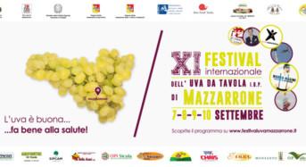Al via l'XI edizione del Festival Internazionale dell'Uva da tavola IGP di Mazzarrone
