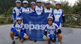 I biker del Gruppo Epas sulle Dolomiti: Un team di atleti della Modica Triathlon Bike ha partecipato alla competizione 3 Epic