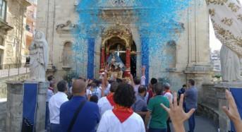 Grande festa ieri a Monterosso Almo con le due processioni per celebrare la patrona maria santissima addolorata