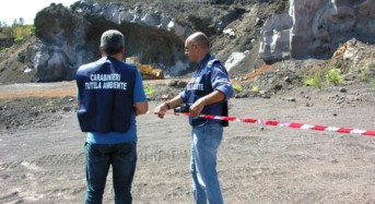 Mascali. Sequestrata una cava di 20.000 mq per gravi reati ambientali