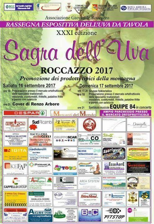 Sagra dell'uva a Roccazzo