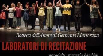 Ragusa, la Bottega dell'Attore presenta i corsi di recitazione e dizione