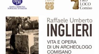 Comiso, la Pro Loco presenta un volume sull'archeologo Raffaele Umberto Inglieri