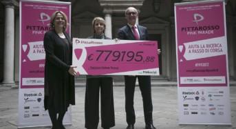 PittaRosso Pink Parade, 780 mila euro per la lotta contro il tumore al seno