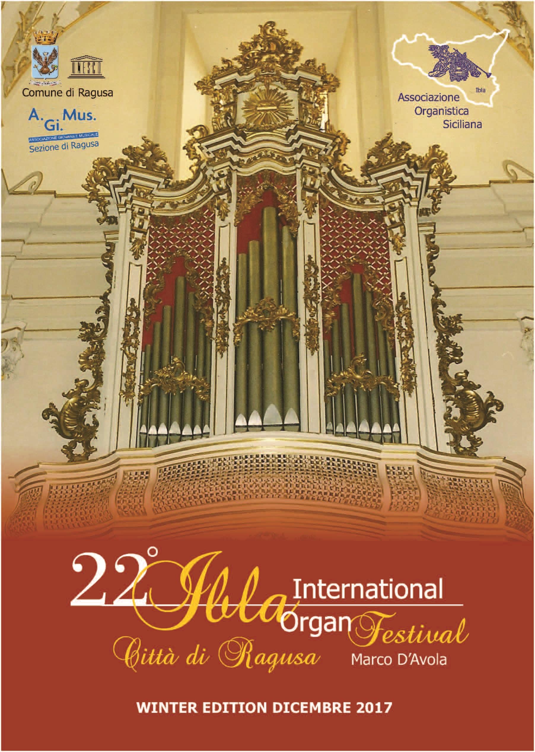 Festival Internazionale Organistico Città di Ragusa
