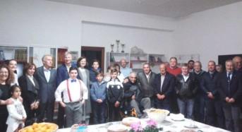 Il governatore John De Giorgio in visita a Palazzolo Acreide