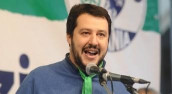 """Matteo Salvini: """"629 immigrati a bordo della nave Aquarius in direzione Spagna, primo obiettivo raggiunto"""""""