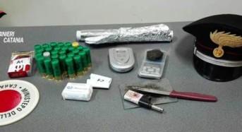 Scovate dal cane Ivan droga e munizioni: Arrestato un 22enne