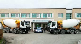 Recuperate dalla Polizia Stradale due betoniere Iveco Trakker appena rubate in un'azienda di San Cesario