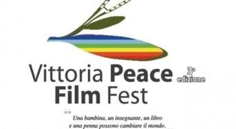 Vittoria Peace Film Fest. Il Cinema strumento di pace, integrazione e unione