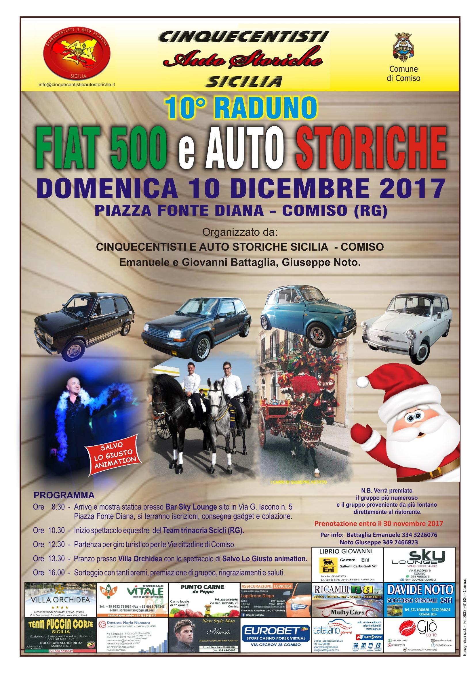 Fiat 500 e Auto Storiche