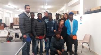 Ragusa, 1° Torneo Senza Frontiere di Ping-Pong e Calcio Balilla