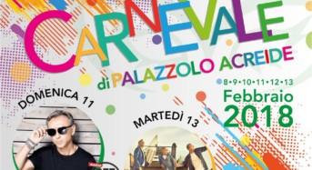"""Palazzolo Acreide, grande festa con Albertino e i """"Sud Sound System""""per il Carnevale 2018"""