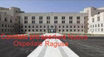 """Ragusa. Domenica 28 gennaio alle 10,30 la prima attività del """"Comitato pro apertura nuovo ospedale di Ragusa"""""""