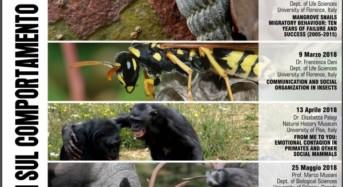 Università di Pisa, al via un ciclo di seminari sul comportamento animale