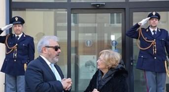 Ragusa. Saluto del Prefetto Maria Carmela Librizzi in Questura