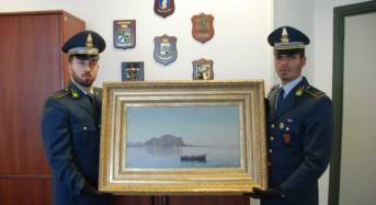 Palermo. Sequestrati 1 milione di euro e un dipinto del pittore palermitano Lo Iacono