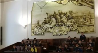 Catania. Palazzo degli Elefanti: baby consiglio con alunni della De Amicis