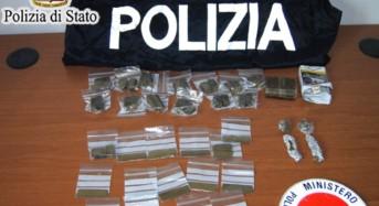 """Controlli nelle zone d'interesse della """"movida"""" gelese: Arrestato 20enne trovato in possesso di 216 grammi di hashish"""