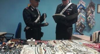 Bolognetta. I carabinieri recuperano orologi e gioielli, denunicando coppia di palermitani