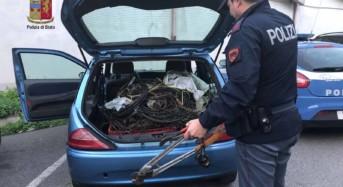 La Polizia di Stato denuncia ladro di rame: a suo carico anche 5 furti perpetrati ai danni di esercizi commerciali del centro messinese