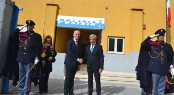 Enna. Il capo della polizia, Prefetto Franco Gabrielli, in visita alla Questura