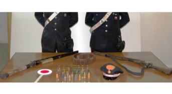 Caltagirone. Nascondevano nell'ovile due fucili e munizioni: Arrestate due persone