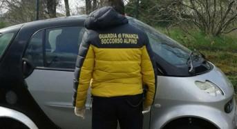 Rintracciato dalla Gdf soccorso alpino un giovane disperso sull'Etna