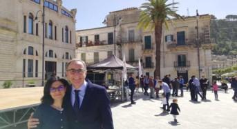 Lorefice e Pisani oggi a Modica per ringraziare la città dello straordinario risultato elettorale