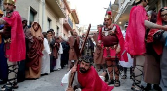 Vittoria. 25 marzo emozionante rappresentazione vivente della Passione di Gesù Cristo