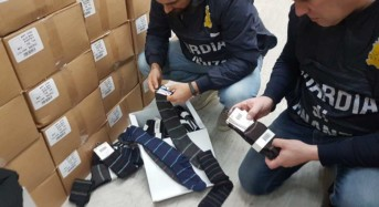 Torino. Falso made in italy: Sequestrati 5 milioni di capi di abbigliamento